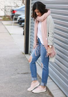 Blush Sneakers @cobaltchronicle