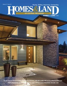 View the latest issue online of Homes & Land of Central Oklahoma #homesandlandmagazine #realestate #homesforsale