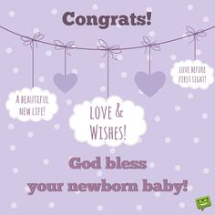 Images of congratulations on a newborn baby congratulations wishes congrats for your newborn baby love wishes m4hsunfo