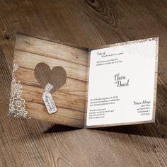 1000+ images about Einladungskarten mit Herzmotiv zur Hochzeit on ...