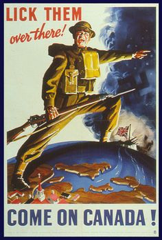 Canadian WW2 poster