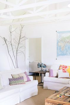 white on white with lots of color / Photo by Brooke Holm / Production by Lucy Feagins / The Design Files