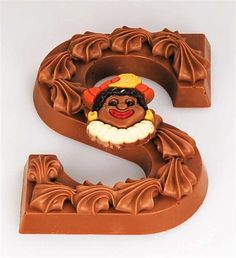 Chocolate Letters given at Sinterklaas Day on December 5th