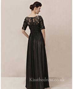 black dress long sleeve lace