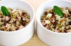 Salada de cereais, abacaxi e peito de peru | Panelinha - Receitas que funcionam