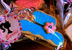 Barbie Cookies for a Barbie and Ken Party