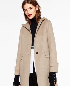 Image 5 of WOOL COAT from Zara