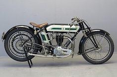 Triumph 1924 'Ricardo' 500cc 1 cyl ohv 4 valve