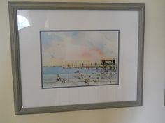 Unknown, Dan Winter, original watercolor, signed by the artist.