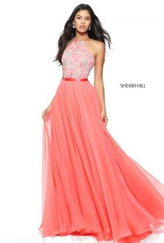 feel the warm kiss of summer in sherri hill 50931 this demure dress has a