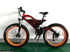 Elecycle EK-02 Fat Tire Electric Bike - Electric Vehicles / Electric Mountain Bikes - TheSolPatch.com
