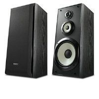"""Sony SS-B3000 Bookshelf Speakers (Pair, Black) by Sony. $109.00. From the Manufacturer                Small speakers, big sound: the SS-B3000 performance bookshelf speakers may not be large, but they pack a high-resolution audio punch. With their highly-advanced 8"""" woofer and stellar reproduction qualities, these durably-constructed speakers will refresh your appreciation for your music collection.                                    Product Description                Small spea..."""