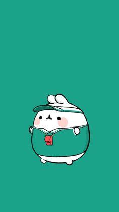 illust by. 정승호 원래는 우리 디자이너의 봉제인형 시안용 스케치였는데너무 귀여워서 폰배경으로 만들어...