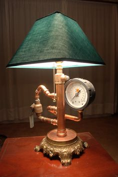 steampunk lamp on etsy $200