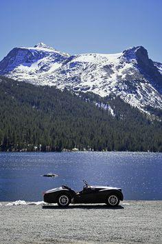 1960TR3A at Tanaya Lake, Yosemite