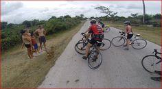 Voyager en vélo.