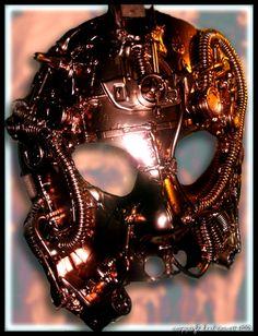 Brass Steampunk Mask