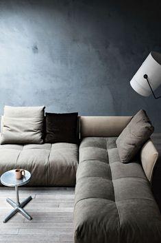 Ixel sofa fr n saba italia design by sergio bicego for Se pa arredamenti corridonia