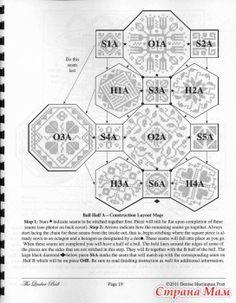 The Quaker Ball - The World of Blackwork&Monochrome Cross Stitching - Страна Мам Biscornu Cross Stitch, Cross Stitch Tree, Cross Stitch Heart, Cross Stitch Borders, Cross Stitch Designs, Cross Stitching, Cross Stitch Patterns, Diy Embroidery, Cross Stitch Embroidery