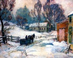 John F. Carlson. January Morning.