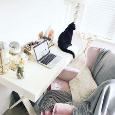 chic + cozy office