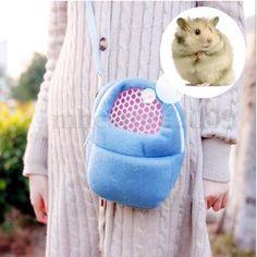 Hamster Rato Coelho Porco-espinho Chinchila Furão OUTGOING Pacote Bolsa Cama Suspensa