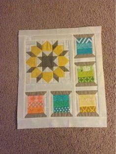 Cute mix of patterns