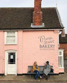 A visit to the Pump St Bakery in Orford, Suffolk Shops, Tear Down, Pink Houses, Slow Food, Vintage Pink, Travel Inspiration, The Outsiders, Bakery, England