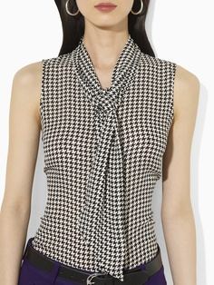 Silk Sleeveless Blouse - Sleeveless   Shirts - RalphLauren.com