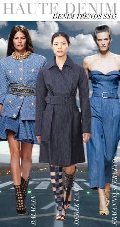 TREND COUNCIL SS 2015- HAUTE DENIM