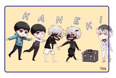 Haise is Kaneki by obily95.deviantart.com on @DeviantArt