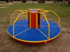 A piece of classic playground equipment gets a clean tech makeover.