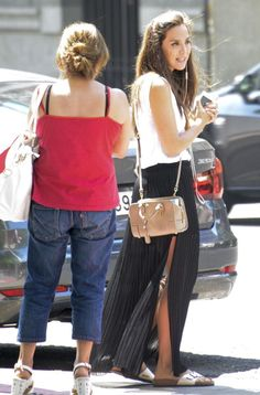 Tamara Falco is seen on August 05 2014 in Madrid