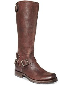 Frye Women's Veronica Back Zip Tall Boots.  It's a Frye.  Need I say more?  You're almost guaranteed to look stylish in any Frye boot.  Timeless.  Quality.