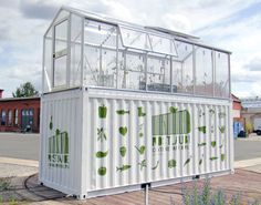 Six incredible buildings made from shipping containers