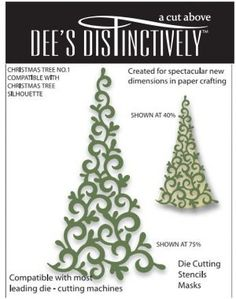 Dee's Distinctively Dies - Christmas Tree No.1