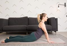 5. Cobra Pose #flexibility #stretches http://greatist.com/move/stretching-exercises-how-to-test-your-flexibility
