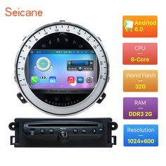 ==> [Free Shipping] Buy Best Android 6.0 HD Touchscreen Radio for 2006-2013 BMW Mini Cooper DVD Player GPS Navigation System with bluetooth show KPH Online with LOWEST Price   32807129361