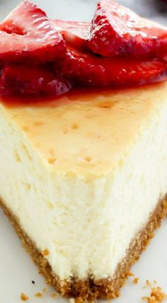 The Best New York -Style Cheesecake