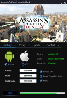 Assassins Creed Identity Hack  Assassins Creed Identity Hack (Android/iOS) - HacksBook http://www.hacksbook.com/assassins-creed-identity-hack-cheats/