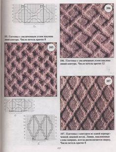 Patrones de bolso tejido con dos agujas