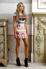 Petra Ecclestone's dress