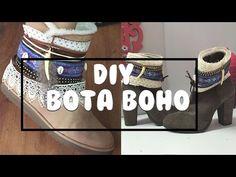 DIY Bota Boho - YouTube