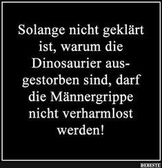 Solange nicht geklärt ist, warum die Dinosaurier ausgestorben.. | Lustige Bilder, Sprüche, Witze, echt lustig