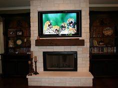 Wood Fireplace Mantels: Elmwood Reclaimed Timber