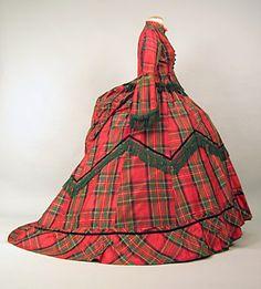 Day dress, ca 1871