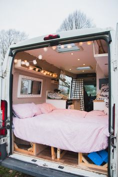 Adventures in a Camper - Van Conversion Van Conversion Interior, Camper Van Conversion Diy, Motorhome, Campervan Interior, Small Camper Interior, Small Camper Vans, Campervan Ideas, Ducato Camper, Kangoo Camper