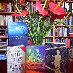 Please join us in congratulating our 4 RHC authors, Sean Michaels, Shani Mootoo, Miriam Toews & Padma Viswanathan! Their amazing books have been longlisted for the 2014 #GillerPrize