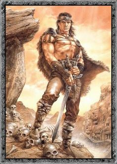 Modi-(The Brave) Norse son of Thor and Jarnsaxa, Patron of Berserkers and the battle-mad. His fate is to survive Ragnarok and, with his brothers' help, drag Thor's Hammer Mjollnir to the meadows where survivors will gather to rebuild the world.