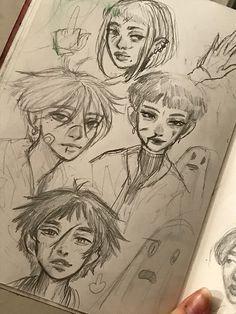 Art Drawings Sketches Simple, Cool Drawings, Arte Grunge, Arte Punk, Trash Art, Arte Sketchbook, Funky Art, Cute Art, Pretty Art
